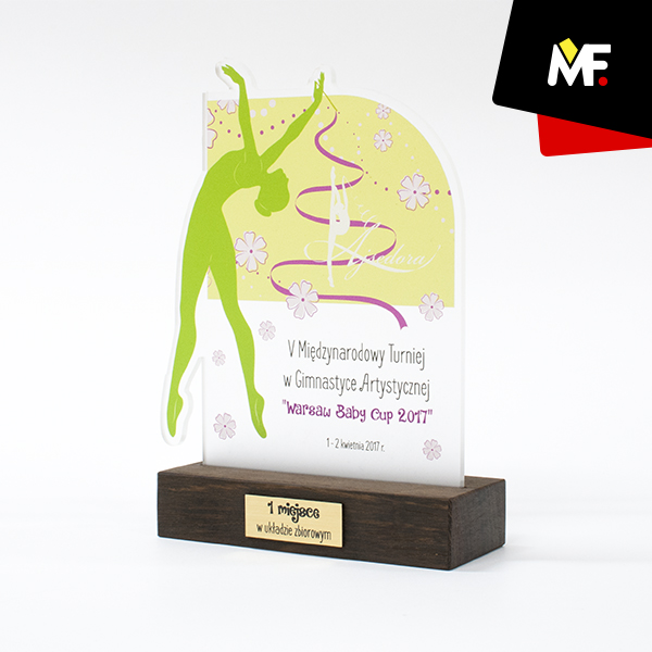 Trophy for 1st place - Warsaw Baby Cup 2017