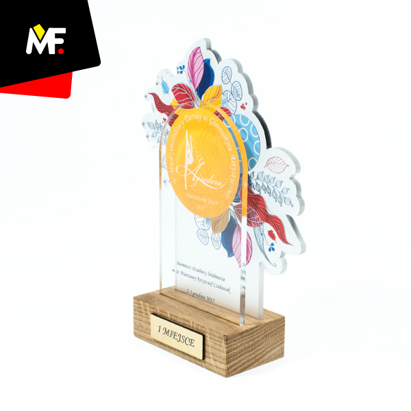 Sport trophy 1st place in Tournament of Artistic Gymnastics