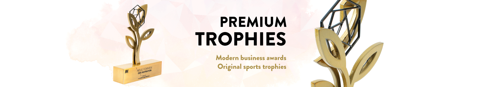 Premium sport and business trophies made by Modern Forms